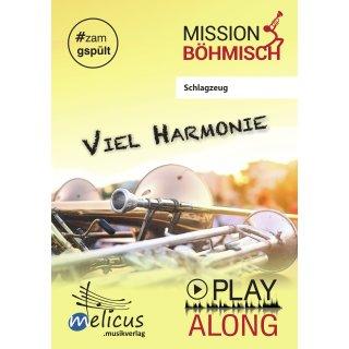 Playalong - Viel Harmonie - Schlagzeug