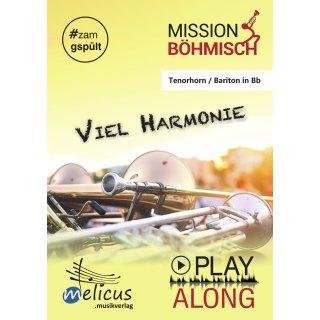 Playalong - Viel Harmonie - Tenorhorn / Bariton