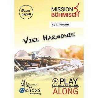 Playalong - Viel Harmonie - 1./2. Trompete - Download-Ausgabe
