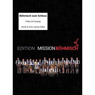 Böhmisch zum Schluss - Polka mit Gesang (Böhmische Besetzung)